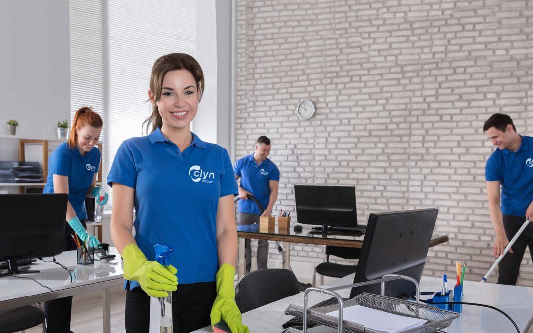 Limpeza profissional rápida e eficiente é com a Clyn
